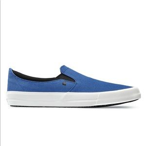 Shoes For Crews Blue Slip On Sneakers